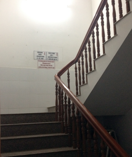 Up these stairs lies untold wealth in English language education...